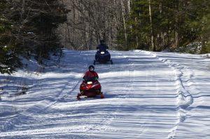 Clam Lake Snowmobile Trails