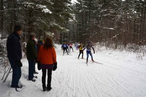 Easy access to area cross country ski trails