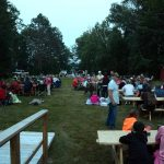Clam Lake WI July 4th Fireworks