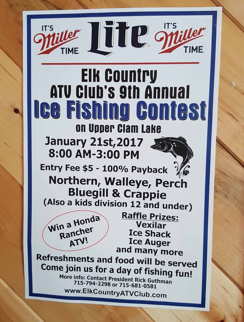 2017 ice fishing contest
