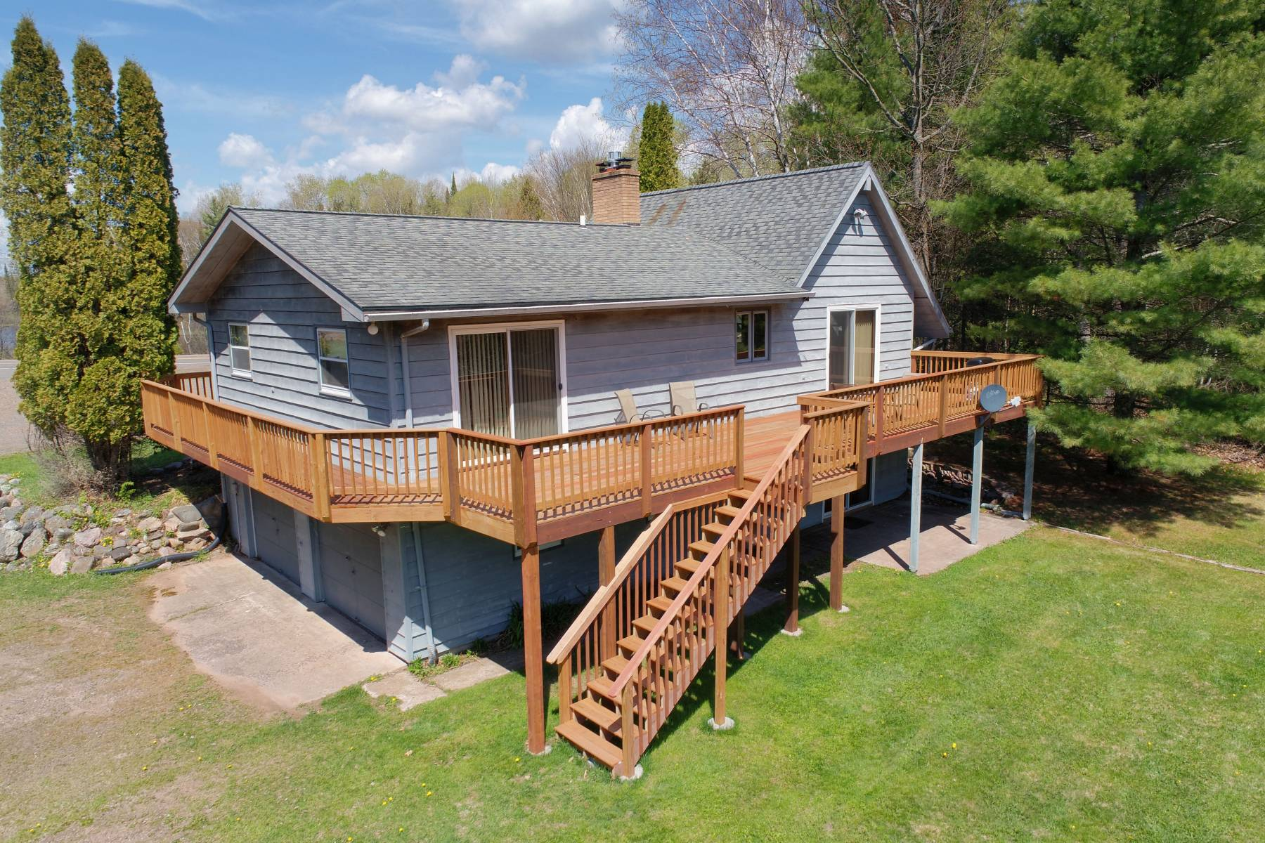 Clam Lake, WI Vacation Home
