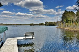 Clam Lake, WI Vacation Rental Buffalo Lake
